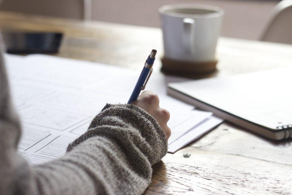 retour à l'écriture